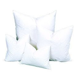 10/90 Down Feather Pillow Insert, Pillows 12x12 Pillow Form