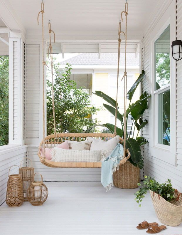 15 Hammocks Porch Swings For Lazy Summer Afternoons Home Decor