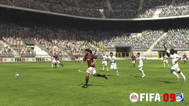 EA FIFA 09 Video Game Images