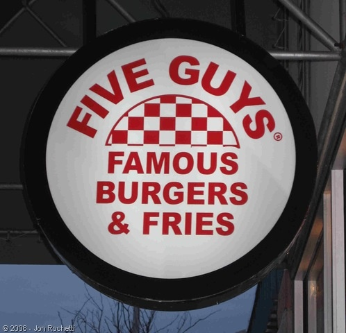 Me and my baby love eating five guys, by the fourth guy i get full, LMAO