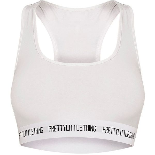 PrettyLittleThing Nude Sports Bra (€16) ❤ liked on Polyvore featuring activewear, sports bras, white jersey, white sports bra, sports bra, sports jerseys and sport jerseys