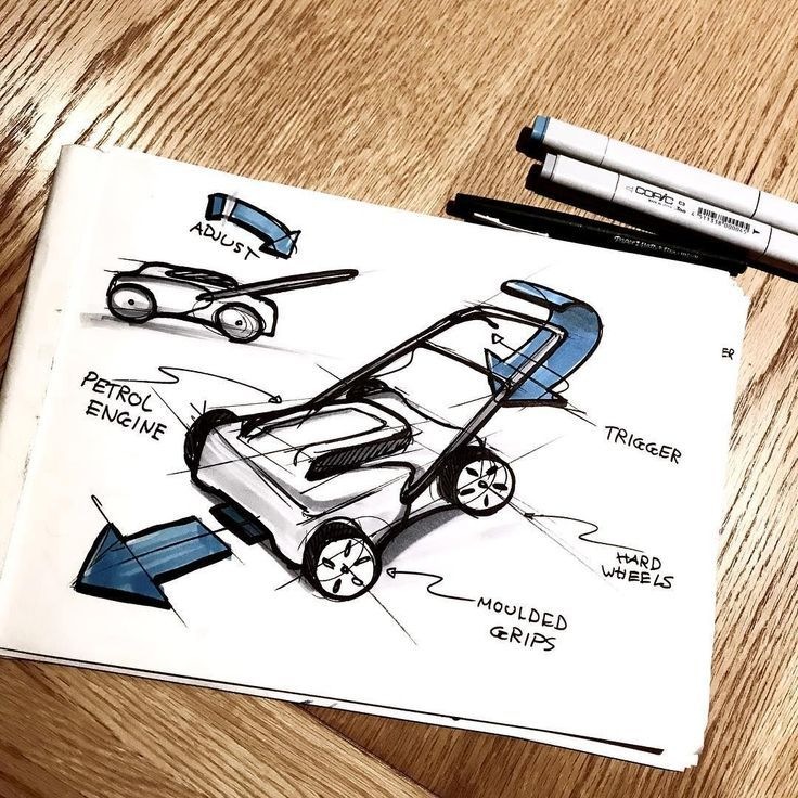 [New] The 10 Best Home Decor (with Pictures)   Lawn Mower sketch #productdesign
