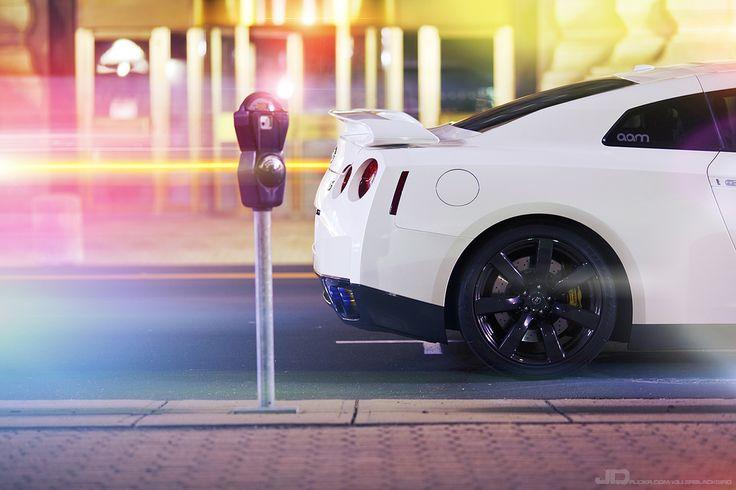 """automotivated: """"2010 Nissan GTR - White (by -KillerBlackbird-) """""""