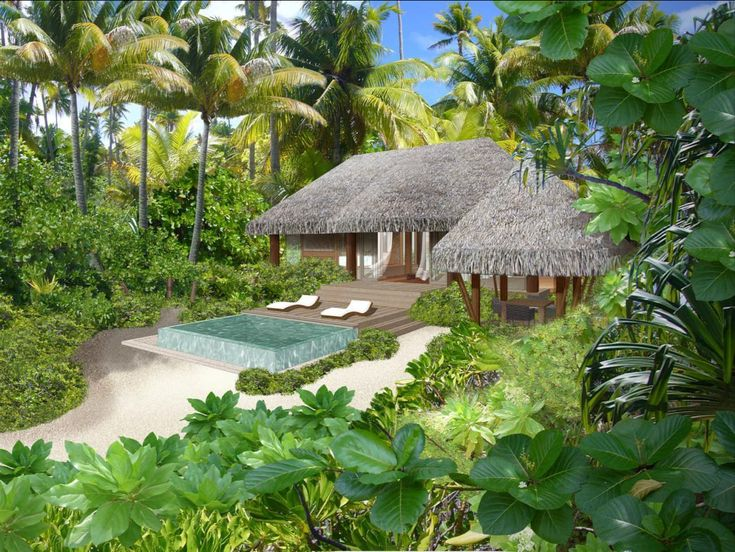 eco resort in Tetiaroa—the island named desire in the French Polynesia, owned by Marlon Brando.