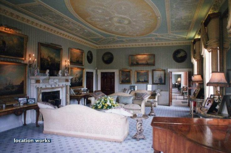 Sitting room brocket hall historical interiors for Sitting hall interior designs