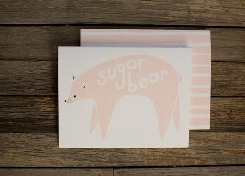 CARD | SUGAR BEAR