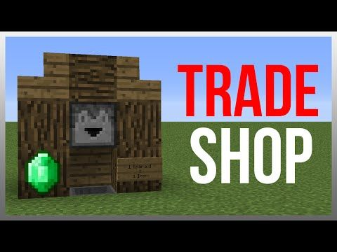 Minecraft 1.10: Redstone Tutorial - Armour Shop! - YouTube