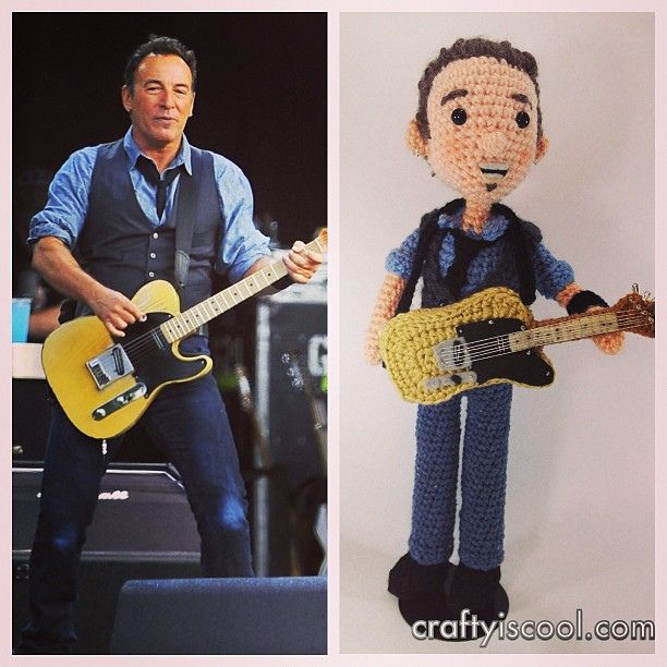 Bruce Springstein by crafty is cool