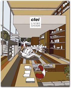CLEI - Mobili trasformabili,letti verticali,divani,tavoli,scrivanie