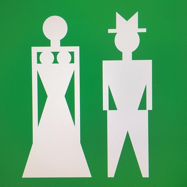 Astros Symbol >> Wc Symbol By Legendary Architect Othmar Barth From The 70s