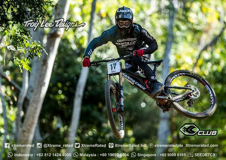 Luca Show getting styley | TLD MTB 2017 Available now in all XClub Stores | ... #xtremerated #xclub #troyleedesigns #mtb #downhill #gravity