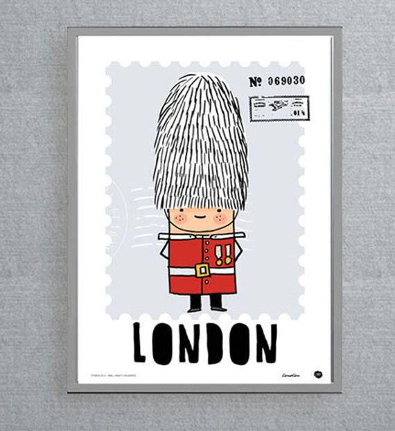 London Poster (wall art, room picture, London Lovers, England, digital print, buckingham palace, royal guard, guard) on Etsy, $16.67 AUD
