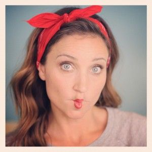 sock hop hairstyles : Bandana Hairstyles. Sock Hop do? Hair Styles for my Girls Pinter ...