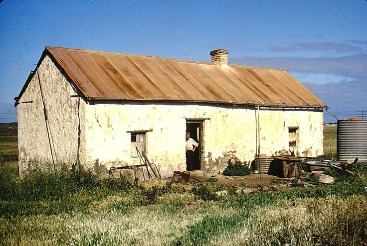 Tom McNeeces's cottage c1975. The place now is a pile of rubble.