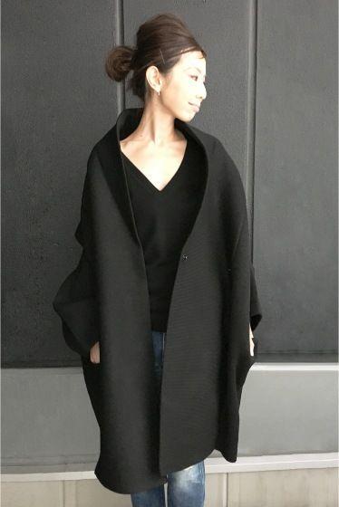 L'Appartement DEUXIEME CLASSE(アパルトモン ドゥーズィエム クラス) REALITY STUDIO Wool Cocoon Volume Coat◆ | スタイルクルーズ