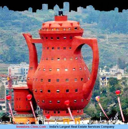 Teapot Shaped Museum in Meitan, China. Do you like the idea...