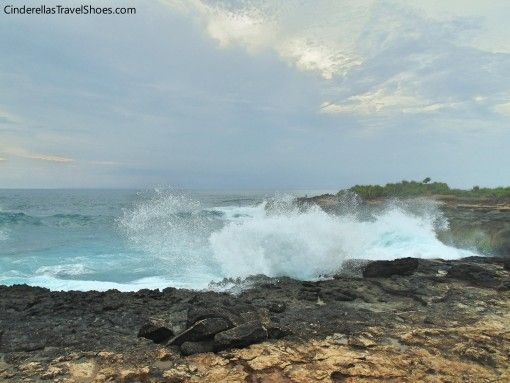 Waves in Lembongan