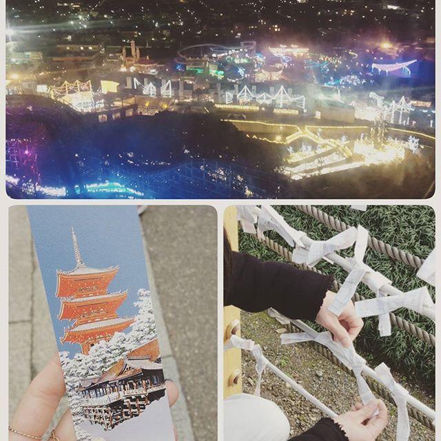 Instagram【and_maaaaa】さんの写真をピンしています。 《4日間の冬休みが終わたー  最後の日は、京都へ行きー 関西の夜景を観てオワリー🙌🙌✨ おみくじでヘコむ人、固く結ぶ。笑 日頃の行ないがおみくじに出るね。笑  そーだ、#京都 へ行こう #ひらパー の#夜景 は意外と#すごい  #おみくじ で#ヘコむ  #日頃の行ない #改めよう  #爆笑 アタシは#大吉 #恋みくじ #楽しい日 #関西 #デート #ハピネスday  #happy #smile #enjoy #love》