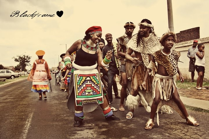 Michel & Jane's Traditional Zulu Wedding » Black Frame Photography