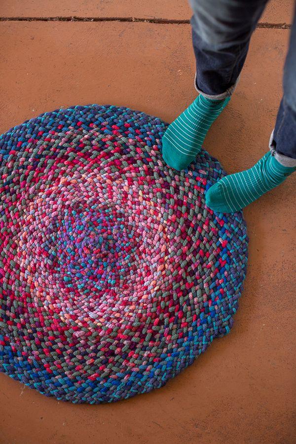 Crochet I Cord : knit i-cord braided rug