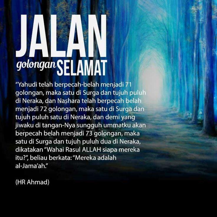 Follow @NasihatSahabatCom http://nasihatsahabat.com #nasihatsahabat #mutiarasunnah #motivasiIslami #hadist #hadits #fatwaulama #akhlak #akhlaq #sunnah  #aqidah #akidah #salafiyah #Muslimah #adabIslami #DakwahSalaf # #ManhajSalaf #Alhaq #Kajiansalaf  #dakwahsunnah #Islam #ahlussunnah  #sunnah #tauhid #dakwahtauhid #Alquran #kajiansunnah #salafy #jalangolonganyangselamat #Nasrani #73Golongan #72Golongan #71Golongan #Yahudi #Nashara #Nasrani #berpecahbelah #FirqatunNajiyah #FirqotunNajiyah