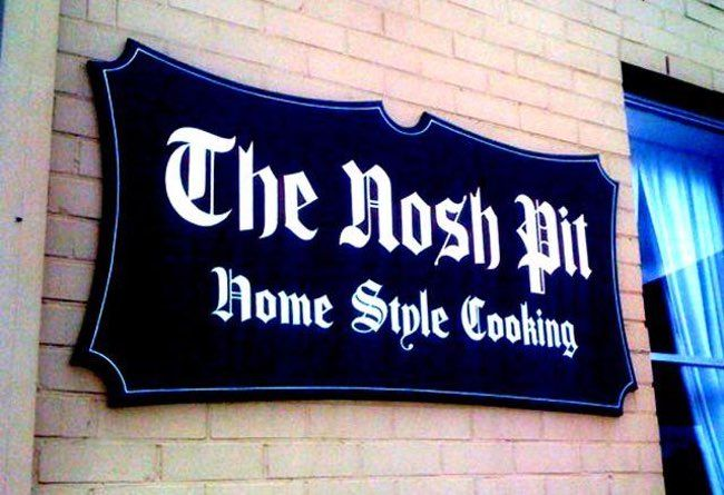 A Place For Homestyle Cooking is listed (or ranked) 33 on the list The 47 Greatest Pun-tastic Restaurant Names