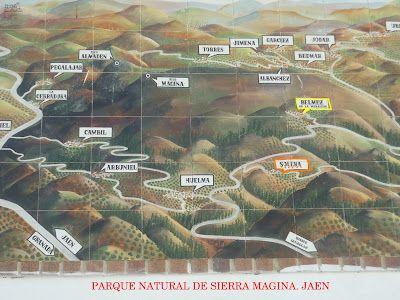 Ilustración del Parque Natural de Sierra Mágina