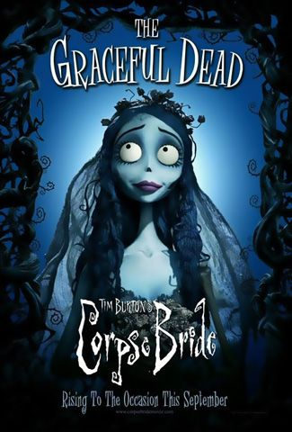 Corpse bride: I LOVE the music in the this movie!