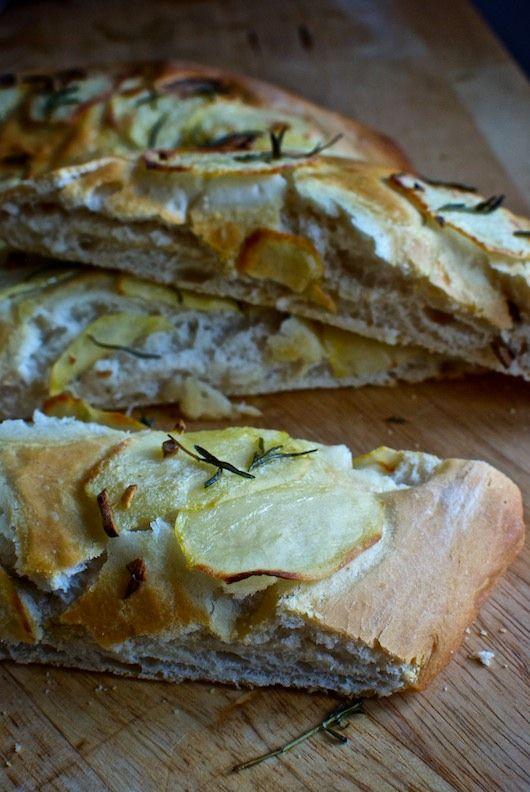 Focaccia de patata y romero, receta italiana con Thermomix