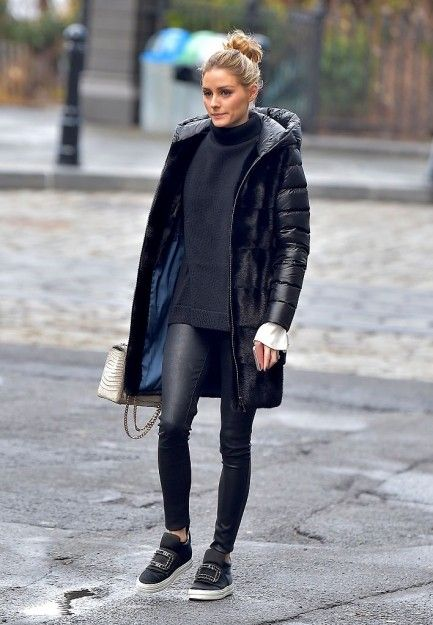 The celebrity guide to styling the warmest winter coats - Red Online