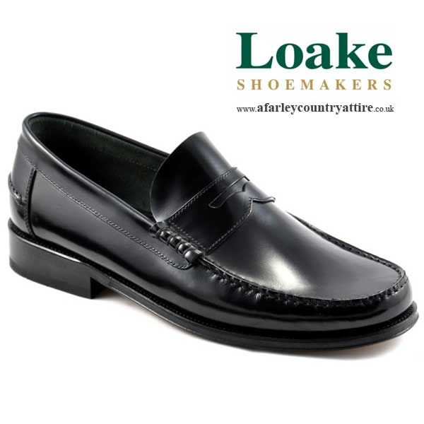Part of the Loake Lifestyle Collection Handmade Polished leather moccasin  slip on loafer shoe