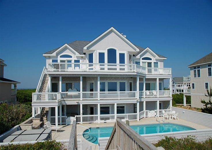 9 best ideas about wedding obx houses on pinterest for 8 bedroom vacation homes