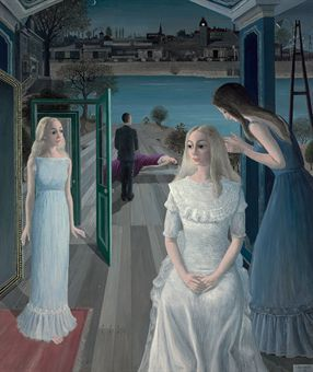 Le Sacrifice d'Iphigénie, 1968 by Paul Delvaux