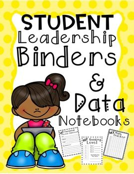 "his packet is full of forms to use in student ""leadership binders/Data Notebooks"" It is designed for students to keep track of their own learning. Research shows that when students take ownership of their learning they are more aware of how they are doing in school. They also have more intrinsic motivation to do better in their school work when they are tracking their own data. This is a great resource to use with the ""leader in me"" programs as well as just in your every day classrooms."