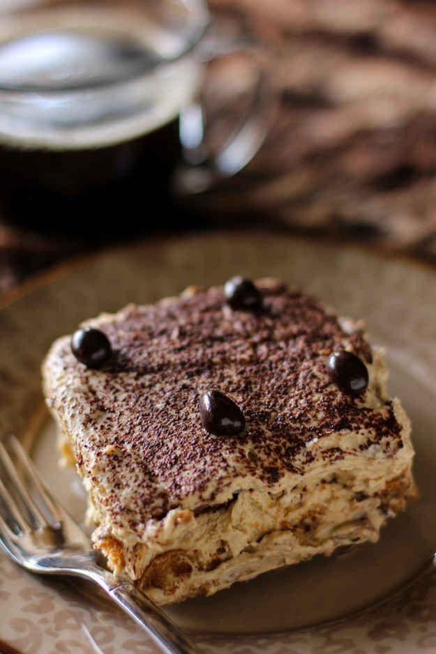 Bailey's Hazelnut Chocolate Tiramisu | 26 Boozy Desserts To Get You Tipsy On St. Patrick's Day