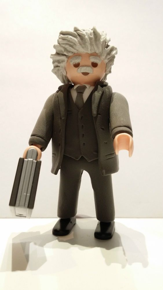 Detalles de FIGURA CUSTOM Albert Einstein - PLAYMOBIL CUSTOM