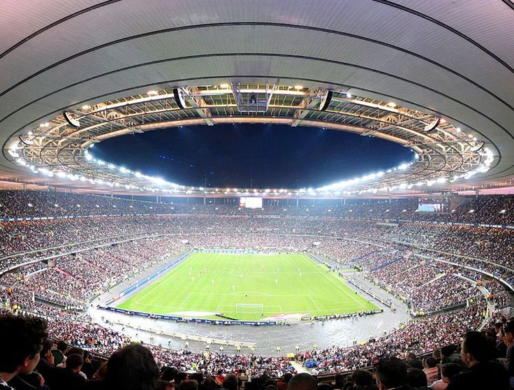 Stade de France, Paris St Germain. Capacity: 81,338