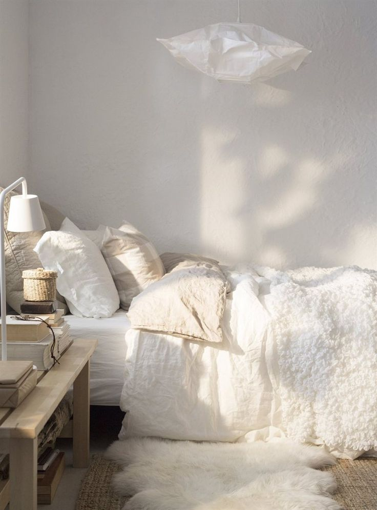 EMMIE SPETS funda nórdica y 2 fundas de almohada €000 200x200/50x60 cm. Blanco. 202.252.30