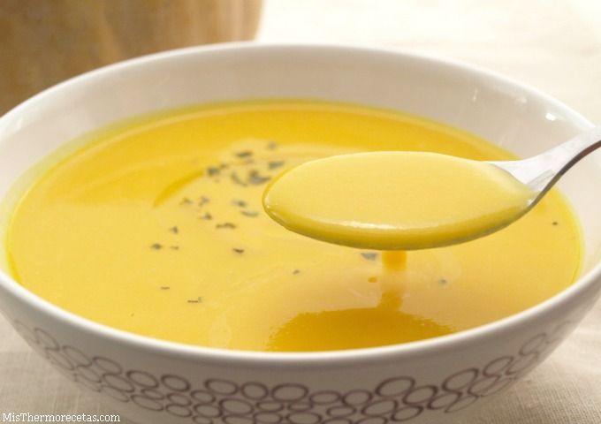 Crema ligera de calabaza - MisThermorecetas.com