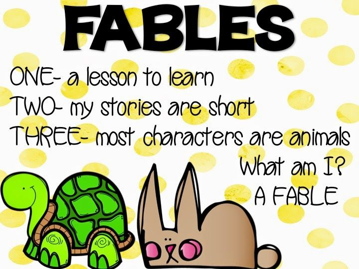 Step into 2nd Grade with Mrs. Lemons: Fable Fun and FREEBIES!