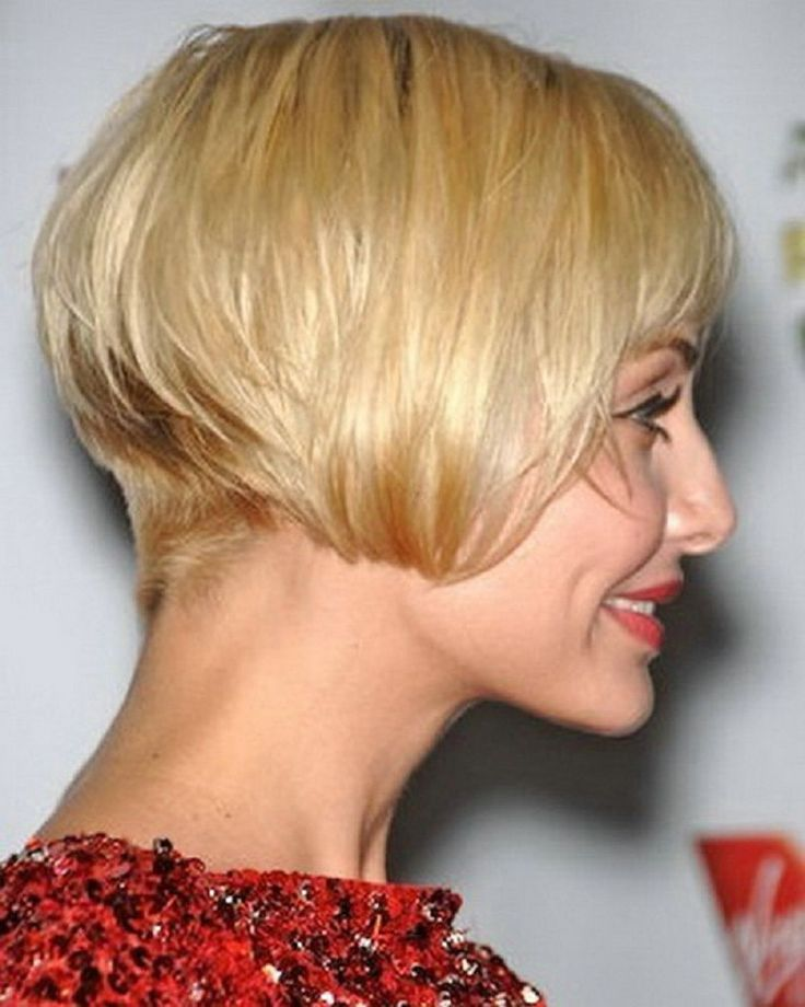 Short Stacked Hairstyles : Simple Hairstyle Ideas For