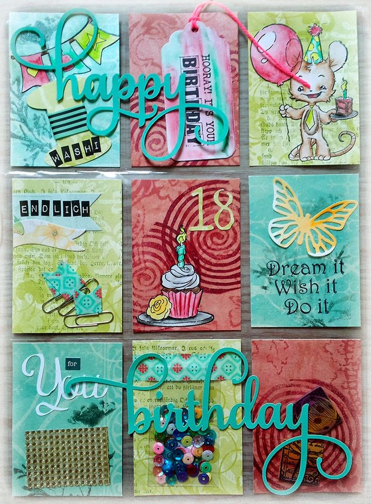 """Susanne Rose's very first Pocket Letter. She says on her blog, """"When I saw a Pocket Letter the first time I thought: """"No, I won't start doing Pocket Letters..."""" It is so much FUN! Here is my first one created with papers from DCWV and Stamps from Rubber Dance. """""""