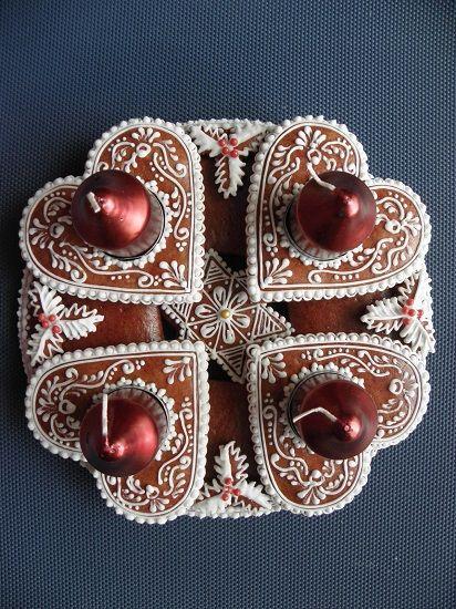Vánoce - adventní svícen