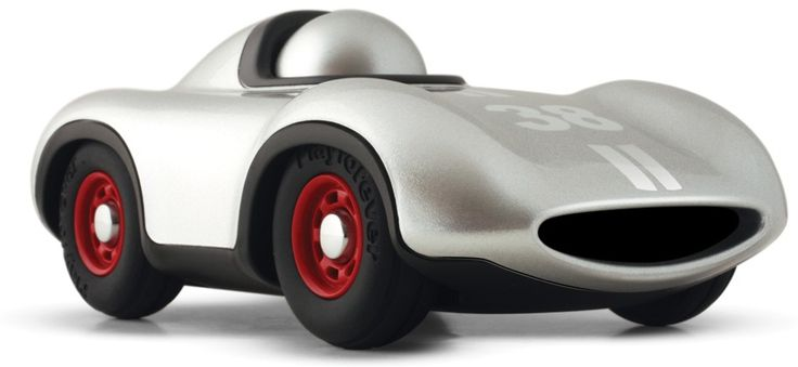 A great desk toy for Dad at work, Playforever's Le Mans Mini in silver is super cool http://www.entropy.com.au/playforever-mini-le-mans-car-silver  #giftsfordad #fathersdaygifts #entropytoys #racecar