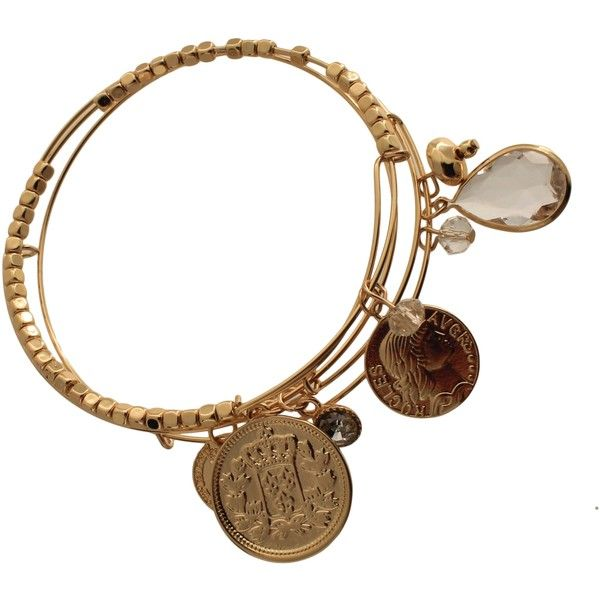3-Piece Adjustable Bangle Bracelets with Charms Antique Gold ($9.99) ❤ liked on Polyvore featuring jewelry, bracelets, hinged bracelet, bangle charms, charm bangle, antique gold bangle and adjustable bangle