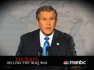 """""""Hubris"""": New Documentary Reexamines the Iraq War  Hosted by Rachel Maddow Monday at 9 pm Eastern, MSNBC."""