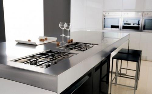 Stainless Kitchen Furniture Design of Diana By Futura Cucine photo Alessandra Martina