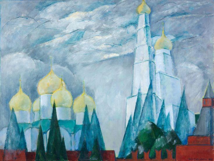 Thunderstruck (Eva Cederström (Finnish, 1909-1995), Kremlin...)