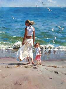 Ocean For Two - Michael and Inessa Garmash - World-Wide-Art.com - $1250.00 #Garmash