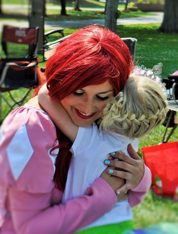 Ever After Princess Parties - http://www.everafterprincessparties.ca/  Princess with Ever After Princess Parties in Edmonton, Alberta. #princessparties #Ariel #Princessariel #Princessmakeup #Princesses #mermaid #birthdayparties #princessbirthdayparty